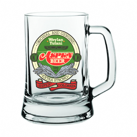 Aspen Beer Weyland Yutani Glass Beer Stein Inspired by Alien